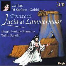 2 CD BOX DONIZETTI LUCIA DI LAMMERMOOR CALLAS GOBBI DI STEFFANO 1953 BELLINI
