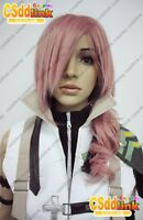 Final Fantasy XIII Lightning Cosplay wig 1093 costume
