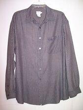 Men's CALVIN KLEIN Long Sleeve Casual Shirt - Size - L ~ EUC