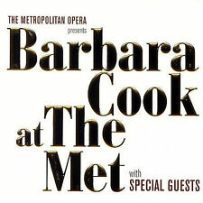 BARBARA COOK (POP VCL) - BARBARA COOK AT THE MET WITH SPECIAL GUESTS      NEW CD