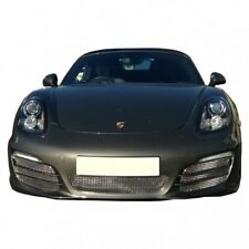 Zunsport Silver polished front grille set for Porsche Boxster 981 with PDC