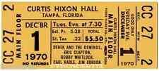 5 1968 -70 Vintage Unused Full Tickets Grateful Dead Woodstock Hendrix reprint