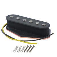Black FD Telecaster Bridge Pickup Alnico 5 Single Coil Electric Guitar Pickup