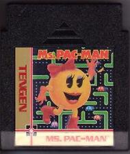 MS MRS PACMAN PAC-MAN TENGEN BLACK GAME SYSTEM NINTENDO NES HQ