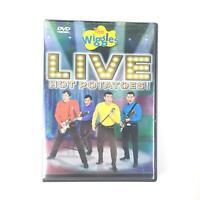 The Wiggles Live Hot Potatoes (DVD, 2005) Concert Monkey Dance Fruit Salad