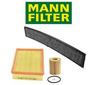OEM Air Filter Oil Filter AC Cabin Filter Carbon BMW E46 323i 325i 328i 330i X3
