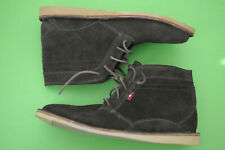 Oliberte Mens Suede Boot Lace Up Shoe Brown Size 42 US 9