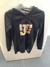 Women's DC Shoes Felice Fleece Riding Hoodie color Black size X-Small