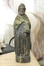 sculpture bois personnage religieux saint  sculpture ancienne