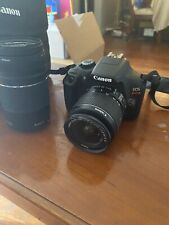 Canon EOS Rebel T6 18.0MP Digital SLR Camera with 18-55 mm and Canon Camera Bag