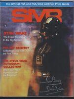 SMR Sports Market Report PSA/DNA Guide Magazine  DARTH VADER 06/2015 USED