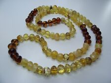 NATURAL BALTIC AMBER NECKLACE 72cm