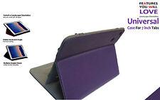 Universale Flip Supporto Pieghevole Case per Amazon Kindle Cinque HD 7inch Viola
