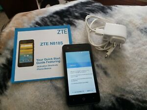 ZTE N818S -- Black 8GB - Q-Link Wireless