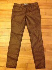 "Trina Turk Bronze Metallic ""Suki Pant"" Skinny Jeans, Size 2, NWT!"