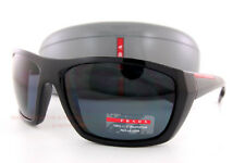 Brand New Prada Sport Sunglasses PS 06SS 1AB/5Z1 Black/Gray Polarized For Men