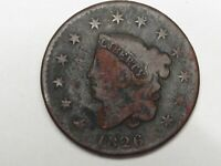 Better-Date 1826 US Coronet Head Large Cent Coin.  #136