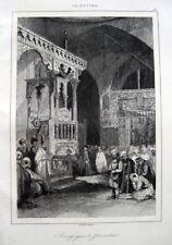 JERUSALEM ISTANBULI SYNAGOGE SYNAGOGUE 1845 SEPHARDEN FOUR SEPHARDIC SYNAGOGUES
