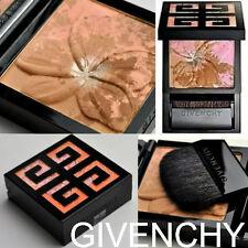 100% Auténtico GIVENCHY Fleur de frangipanier Paleta de polvo de bronceado natural de brocha y