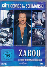 Zabou *DVD*NEU*OVP* Götz George - Der zweite Schimanski-Kinofilm