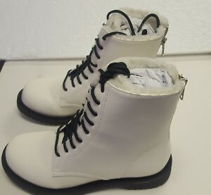 Shellys London Chelsea Winter Boot - Kartes, White, US Size 6