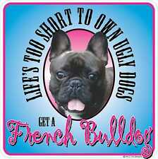 FRENCH BULLDOG UGLY DOGS DECAL All Weather PET Sticker Cute Puppy Great Gift