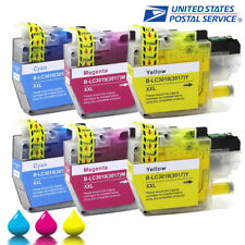 6 PK High Yield Color LC3019XL Ink Cartridges for  Brother LC3017 MFC-J5330dw