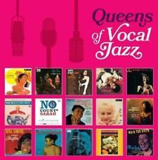 8CDs Queens of Vocal Jazz : Fitzgerald Holiday Vaughan Simone Wilson Bassey Horn