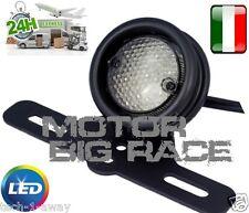 FANALE STOP MOTO LED E SUPPORTO NERO PER HARLEY DAVIDSON BOBBER CHOPPER M192