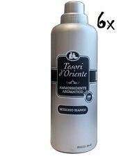 6x Tesori d'oriente duft duftend Muschio bianco Weichspüler 750 ml weiße Moschus