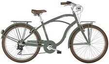 Cruiser Rad Herren 26 Zoll MBM Maui 7 Shimano Gänge Fahrrad Felgenbremse Grün