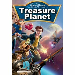 Walt Disney Treasure Planet DVD with case and artwork