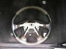 99 00 01 ISUZU VEHICROSS VX GRAY BLACK STEERING WHEEL RARE OEM