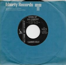 CANNED HEAT  Going Up The Country / On The Road Again 45