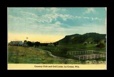 DR JIM STAMPS US COUNTRY CLUB GOLF LINKS LA CROSSE WISCONSIN VIEW POSTCARD