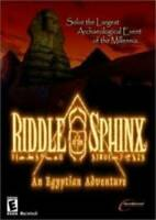 Riddle of the Sphinx: An Egyptian Adventure - CD-ROM - VERY GOOD