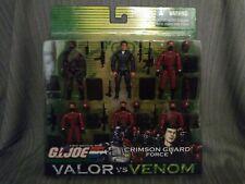 Gi joe Hasbro, tomax and xamot crimson guard forces, valor vs venom