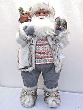 Santa Claus 70990 Weihnachtsmann 80cm Sack Weihnachtsdeko Laterne Weihnachten