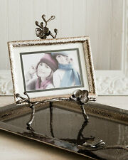 Michael Aram Black Orchid Easel Photo Frame 4x6 or 5x7