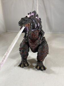 "NECA Shin Atomic Blast Red Godzilla 6"" Action Figure Kaiju 12"" Head Tail 2016"