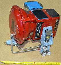 Masoneilan paramax 3 '' ball valve with actuator 33-36414 and positionner 80-4