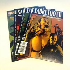Sabretooth Mary Shelley Overdrive Complete Set of 4 (#1-4) VFNM Scott