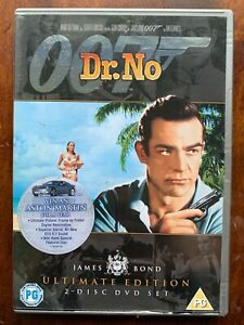 Dr No DVD 1962 James Bond 007 w/ Sean Connery 2 Disc Ultimate Edition Doctor