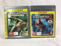 Uncharted 1: Drake's Fortune & Uncharted 2: Among Thieves - Playstation 3 / PS3