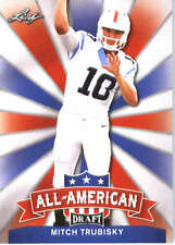 2017 Leaf Draft Football All-American #AA-16 Mitch Trubisky