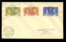 Royalty First Day Cover Seychellois Stamps (Pre-1976)