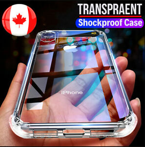 For iPhone XS Max Clear Case Soft TPU Bumper Cover ShockProof 1.5mm Premium
