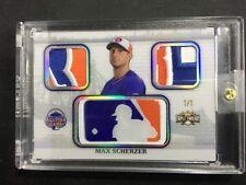 2014 Topps Triple Threads All-Star Game MLB Logo Patch Max Scherzer 1/1 A3106