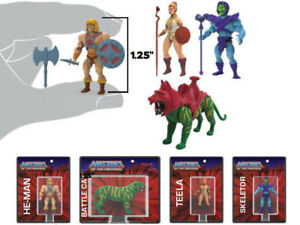 -=] World's Smallest: Masters of the Universe Micro Action Figure Set di 4 [=-