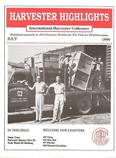 IH Harvester Highlights, Formation of International Harvester, Sugar Cane